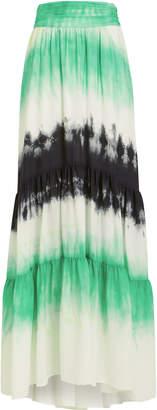 A.L.C. Hopkins Tie-Dye Maxi Skirt