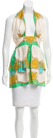 Dolce & GabbanaD&G Silk Printed Tunic w/ Tags