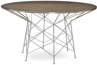 "Caracole High Rise 54"" Dining Table - Metro Brown"