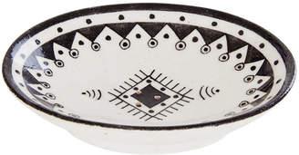 DAY Birger et Mikkelsen Pavillion Hand Painted Soap Dish - Jaipur Porcelain - Black/White