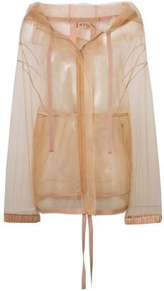 No.21 mesh parka jacket