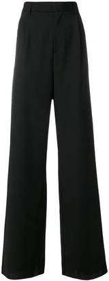 Yang Li high rise flared trousers