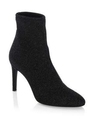 Giuseppe Zanotti Glitter Lurex Ankle Boots