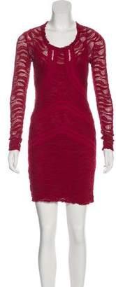 IRO Long-Sleeve Mini Dress