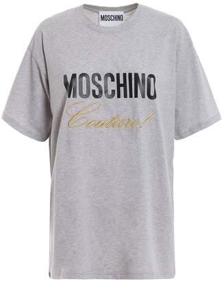 Moschino (モスキーノ) - Moschino Moschino Couture! Grey Cotton T-shirt 07040540j6485