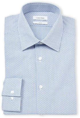 Calvin Klein Slim Fit Broken Lines Dress Shirt