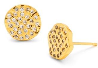 Women's Gorjana 'Aurora' Pave Stud Earrings $50 thestylecure.com