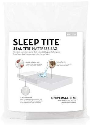"""Malouf Seal Tite Heavy-Duty Sealable 76"""" x 96"""" Mattress Storage Bag (Fits Twin to Queen Mattresses)"""