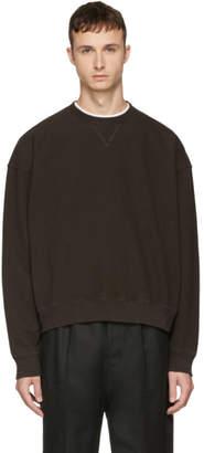 Unravel Brown Oversized Sweatshirt