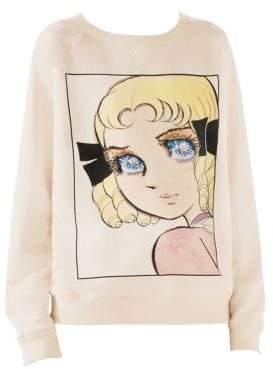 Gucci Manga Sequin Eyes Sweatshirt
