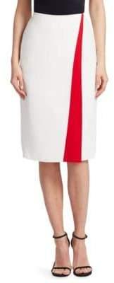 Ralph Lauren Alain Front Stripe Pencil Skirt