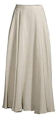 Lafayette 148 New York Women's Ambria Linen-Blend A-Line Maxi Skirt