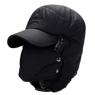 dc3057845ef Chibi-store-hat Winter Hat Bomber Hats for Men Women Thicken Balaclava  Cotton Fur