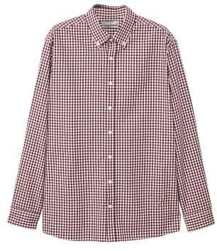Mango man MANGO MAN Regular-fit gingham check shirt