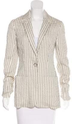 Hermes Silk Textured Blazer