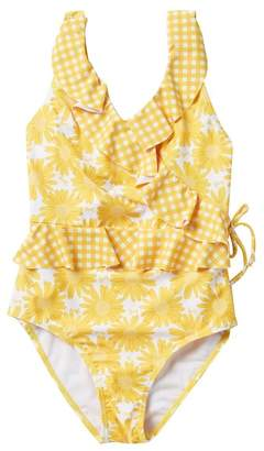 Juicy Couture Ruffle One-Piece Swimsuit (Big Girls)