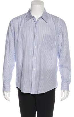 Vince Striped Button-Up Shirt