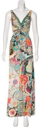 Blumarine Printed Maxi Dress