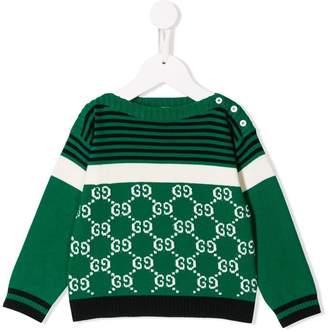 Gucci Kids logo jumper