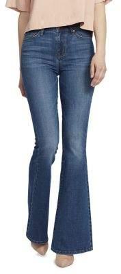 Ella Moss Naomi High-Rise Flared Jeans