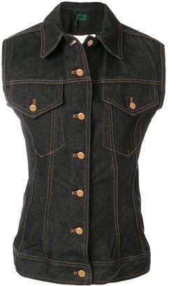 Jean Paul Gaultier Pre-Owned Denim waistcoat