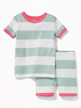 Old Navy Rugby-Stripe Sleep Set for Toddler & Baby