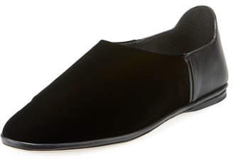 Outlet Professional Saint Laurent Bliss Velvet Slippers Buy Cheap Sale jrPMIIgLQu