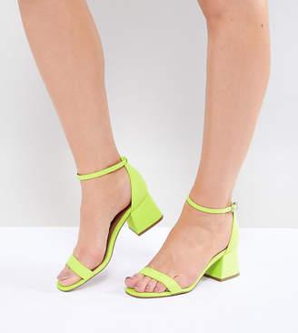 Asos DESIGN Honeydew Heeled Sandals