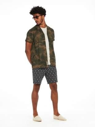 Scotch & Soda Jacquard Sweat Shorts | Short length