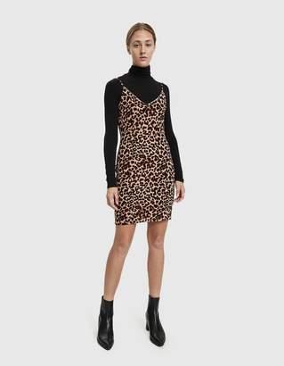Stelen Janet Leopard Mini Dress