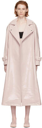 Chika Kisada Pink Patent Coat