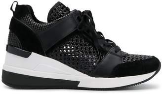 Michael Kors studded hi-top sneakers