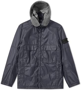 Stone Island Shadow Project Poly Hide Garment Dyed Hooded Parka