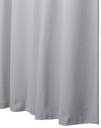 GLUCKSTEINHOME Matelassé Shower Curtain