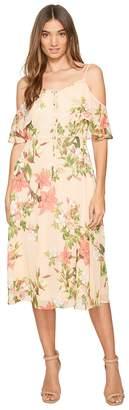 CeCe Alice - Cold Shoulder Floral Women's Dress
