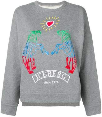 Iceberg polar bear love sweatshirt