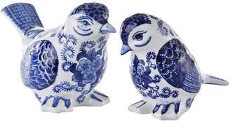 Pols Potten Porcelain Bird Ornaments - Set of 2