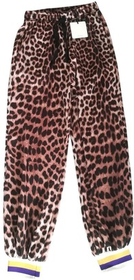 Vicolo Brown Trousers for Women