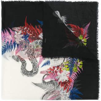 Just Cavalli snake print scarf