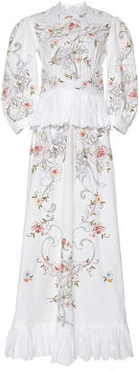 Nevenka Expression Of Community Embroidered Cotton Dress