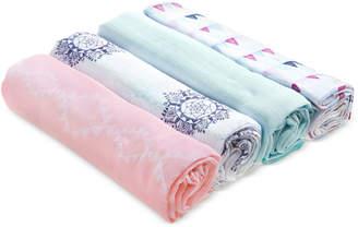 Aden Anais aden by aden + anais 4-Pk. Cotton Printed Swaddle Blankets, Baby Girls