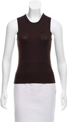 Alaia Sleeveless Wool Top