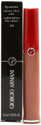 Giorgio Armani Lip Maestro Intense Velvet Lip Gloss #202 Caffe