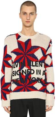 Calvin Klein Star Wool Knit Sweater
