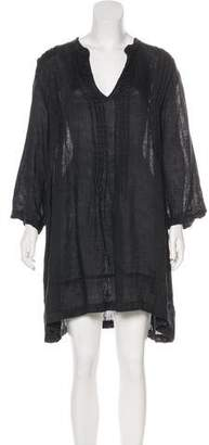 Cp Shades Linen Mini Dress