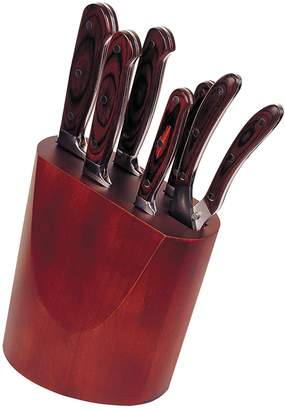 Berghoff Pakka Wood Forged 7-Piece Knife Block
