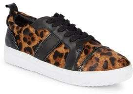 Botkier New York Harvey Calf Hair Leather Sneakers