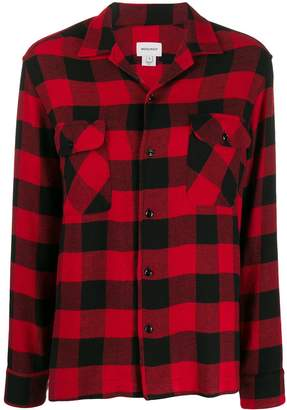 Woolrich check long-sleeve shirt