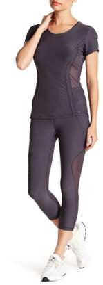 Gottex X by Angled Mesh Panel Capris