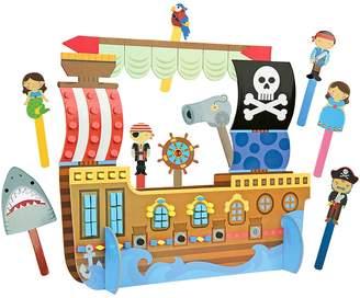 Stephen Joseph Pirate Puppet Play & Craft Set